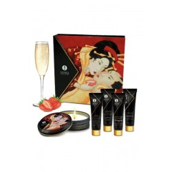 Kit Secret de Geisha Fraise Vin Pétillant