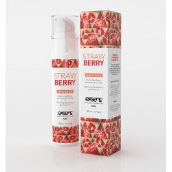 Massage Hot Gourmand Fraise 50Ml
