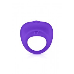 Vibrating Cockring Purple Glamy Violet